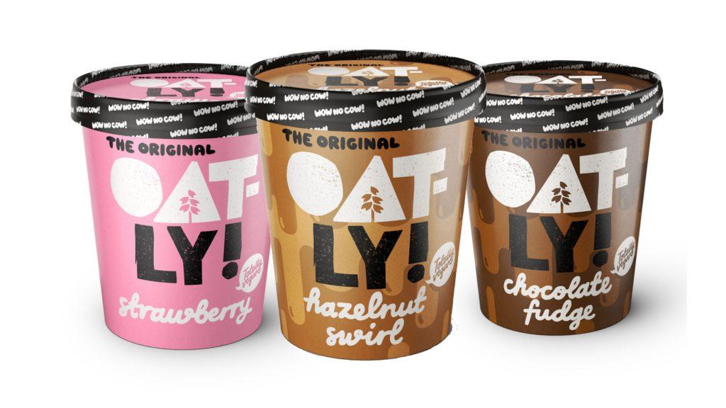 Veganes Eis aus Hafermilch von Oatly