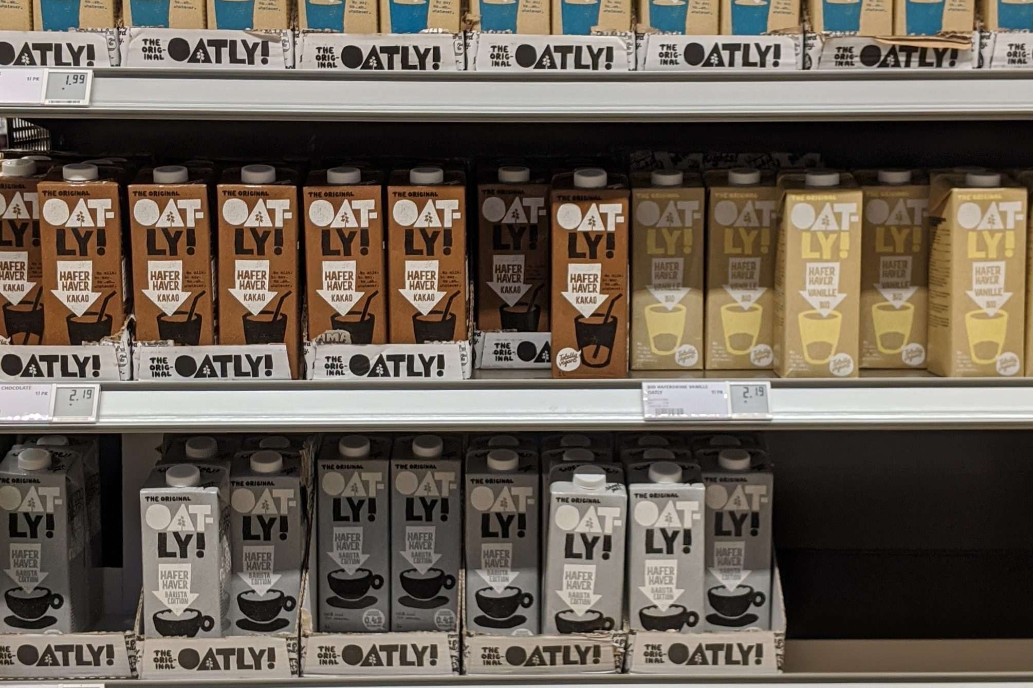 Alternativen zur Oatly Hafermilch
