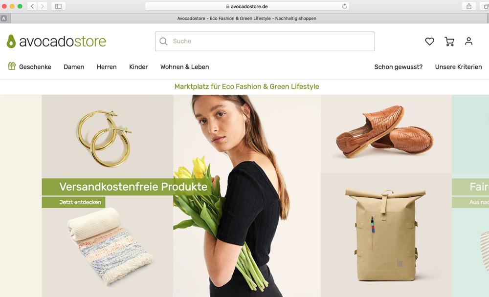Avocadostore - Nachhaltige Produkte
